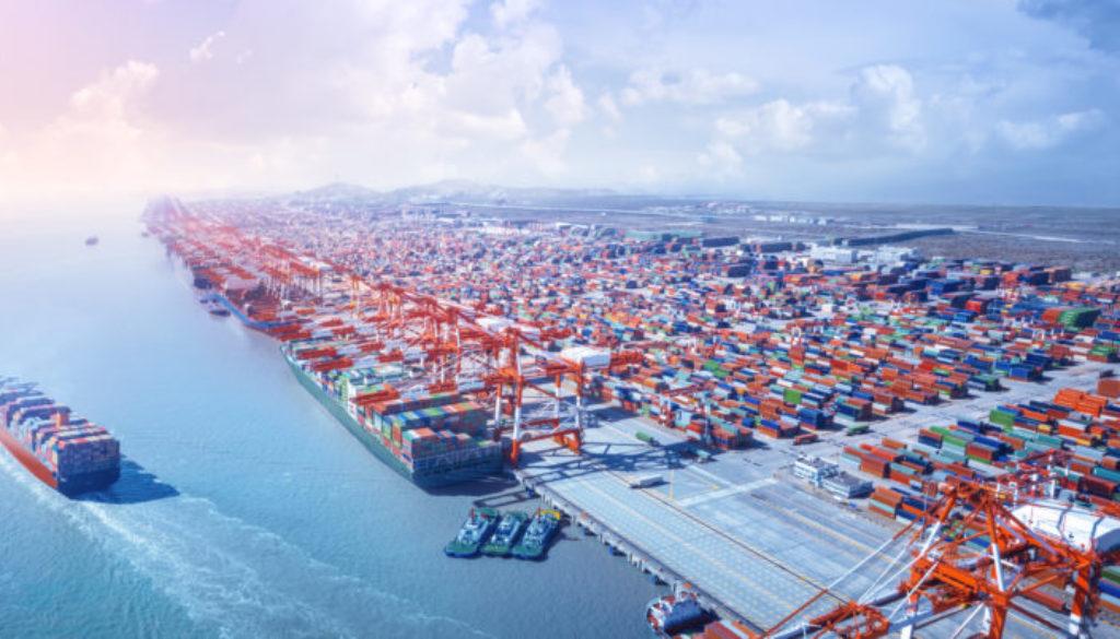El Salvador's main shipping center is the Port of Acajutla